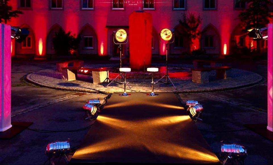 Illumination Ambilight Architekturbeleuchtung Gebäudebeleuchtung Ambiente 2