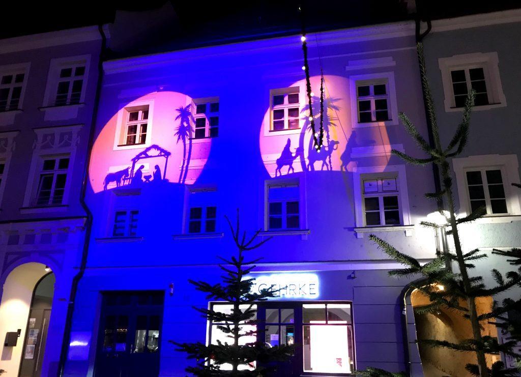 Illumination Ambilight Architekturbeleuchtung Gebäudebeleuchtung Ambiente 11