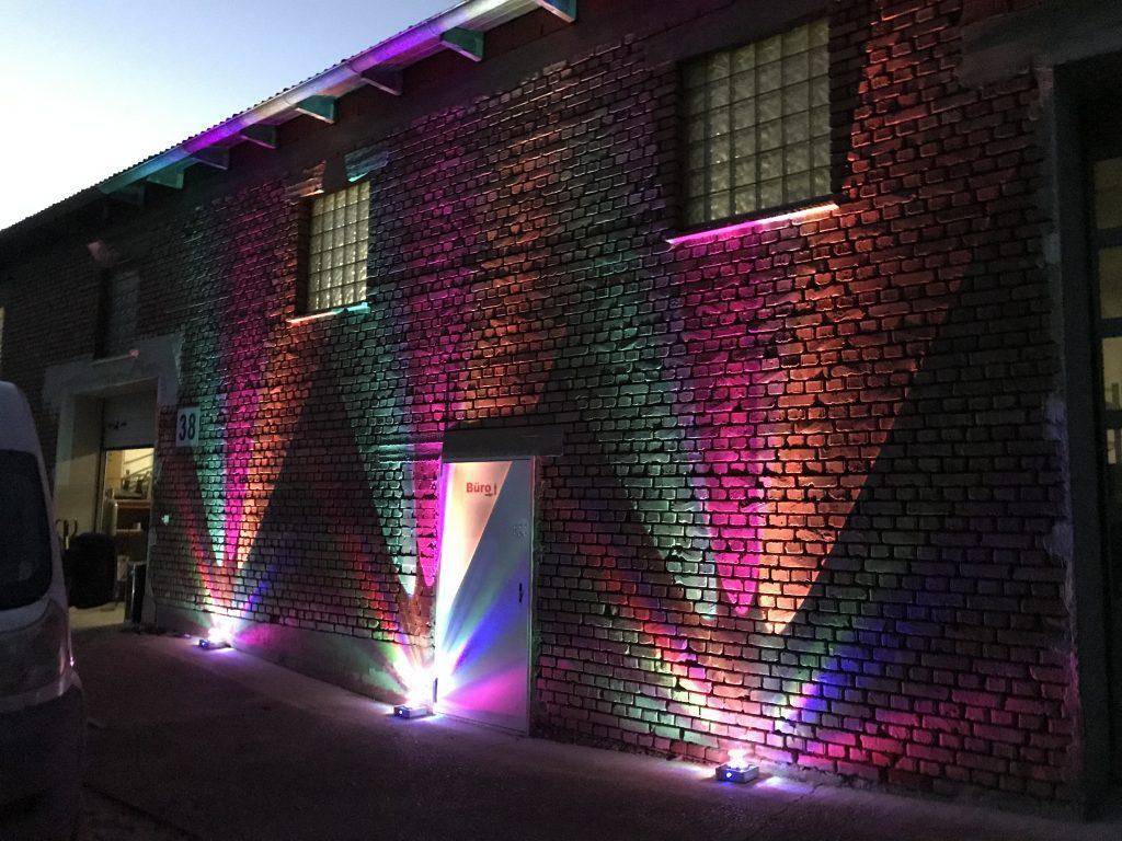 Illumination Ambilight Gebäudebeleuchtung Architekturbeleuchtung Ambiente 1