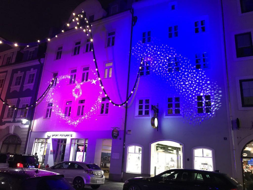 Illumination Ambilight Architekturbeleuchtung Gebäudebeleuchtung Ambiente 3